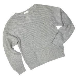 H&M Light Gray Sweater